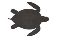 Sea Turtle Silhouette DXF File