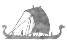 Viking Ship DXF File