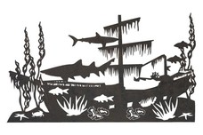 Old Shipwreck DXF File