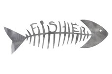 Skeleton Fish DXF File