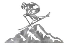 Skiing Stock Art