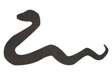 Snake Silhouette DXF File