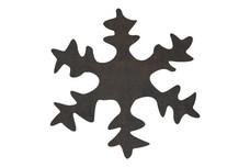Single Snowflake DXF File