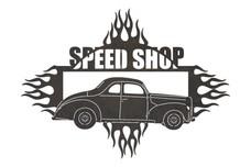 Speed Shop Sign