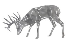 Standing Stag DXF File