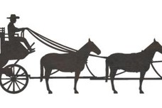 Stagecoach Horses DXF File
