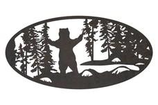 Standing Bear Oval Insert
