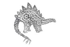 Stegosaurus Stock Art