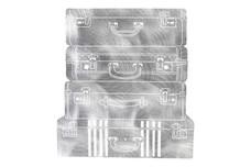 Suitcases Stock Art