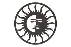 Sun Moon Frame DXF File