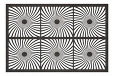 Sun Spiral Privacy Screen