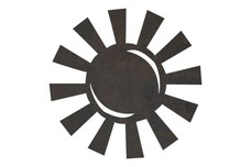 Cartoon Sun DXF File