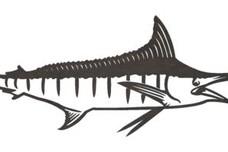Swordfish Eating DXF File