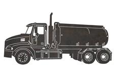 Tanker Truck DXF File