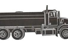 Tanker Side-Profile DXF File