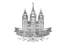 Salt Lake City Temple DXF File
