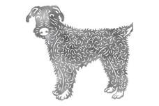 Terrier Wall Art