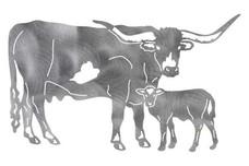 Texas Longhorns Stock Art