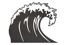 Tidal Wave Garden Art