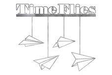 Time Flies Wall Art