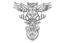 Owl Totem Pole DXF File