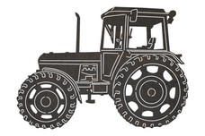 Vintage Tractor DXF File