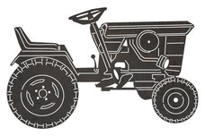 Small Farm Tractor DXF File