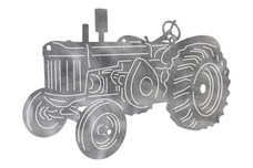 Basic Utility Tractor DXF File