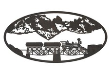 Train Oval Insert