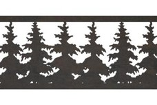 Trees Fence Topper