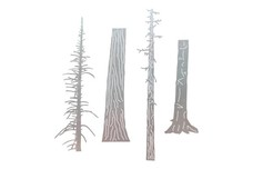 Divided Tree Trunk DXF File