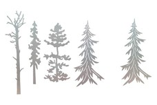 Five Trees DXF File