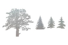 Treetops - Shapes DXF File
