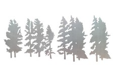 4_Tree_Scenes DXF File