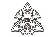 Triquetra Symbol DXF File