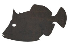 Tropical Trigger Fish DXF File