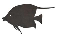 Moorish Idol Fish DXF File