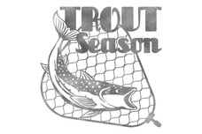Trout Wall Art