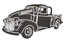 Old Chevy Truck DXF File