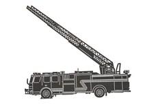 Fire-Truck Ladder DXF File