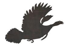Flying Turkey DXF File
