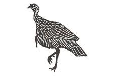 Wild Turkey DXF File