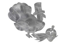 Thanksgiving Turkey DXF File