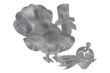 Thanksgiving Turkey DXF File