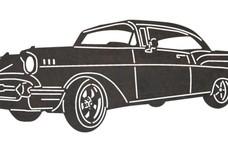 1957 Chevrolet Bel Air DXF File