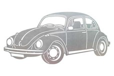Volkswagen Bug Stock Art