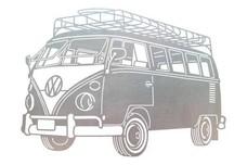 Volkswagen Bus Stock Art