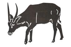 Waterbuck Bowing DXF File