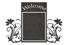 Welcome Frame Art