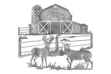 Whitetail Deer Stock Art